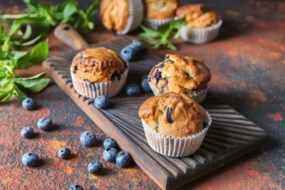 Blueberry muffins - surprisingly simple