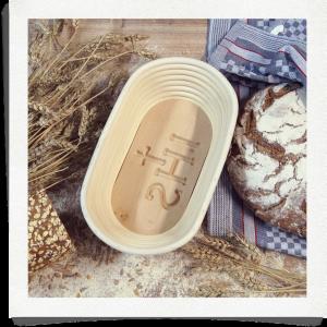 Bread basket IHS - 1 kg oval