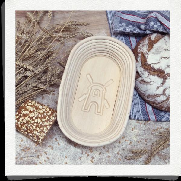 Bread mould mill - 1 kg oval