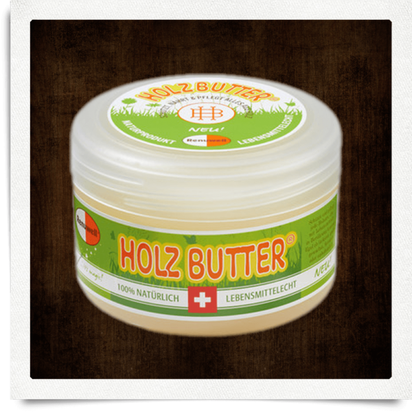 Wood butter, protection and care, 250 ml