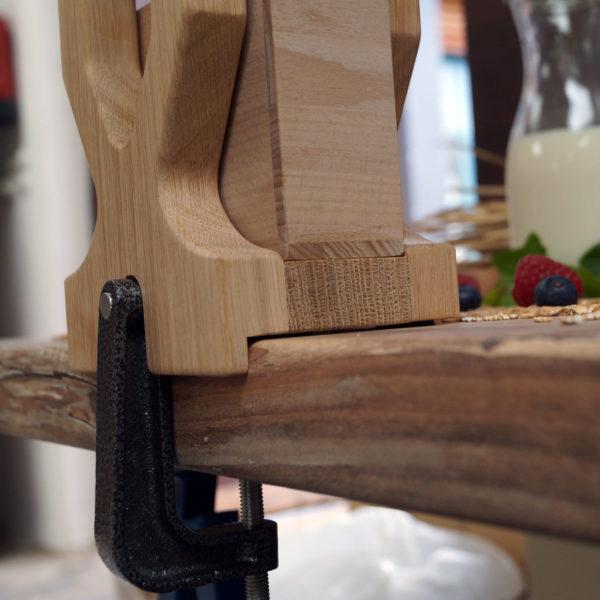 Salzburg flake master with gear drive - oak