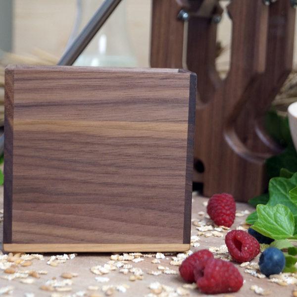 Salzburg flake master from noble walnut wood