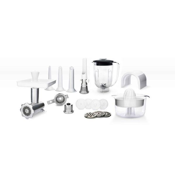 Ankarsrum 6230 mit Grundausstattung + DeLuxe Package - Mineral White
