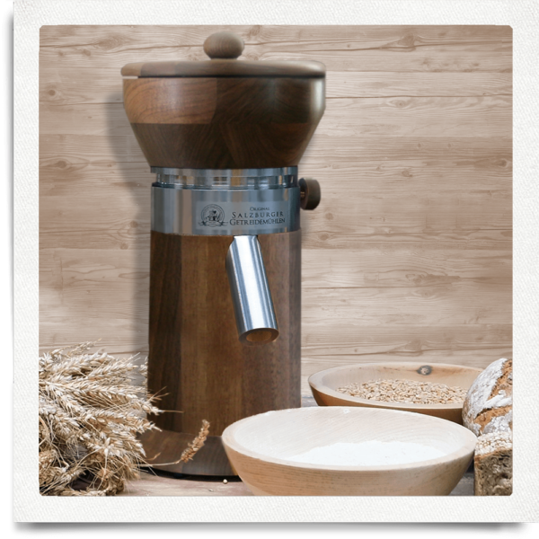 Grain mill MT 5 Nut with stainless steel thread