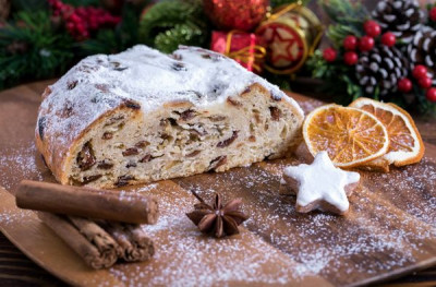 The Christmas stollen with good conscience