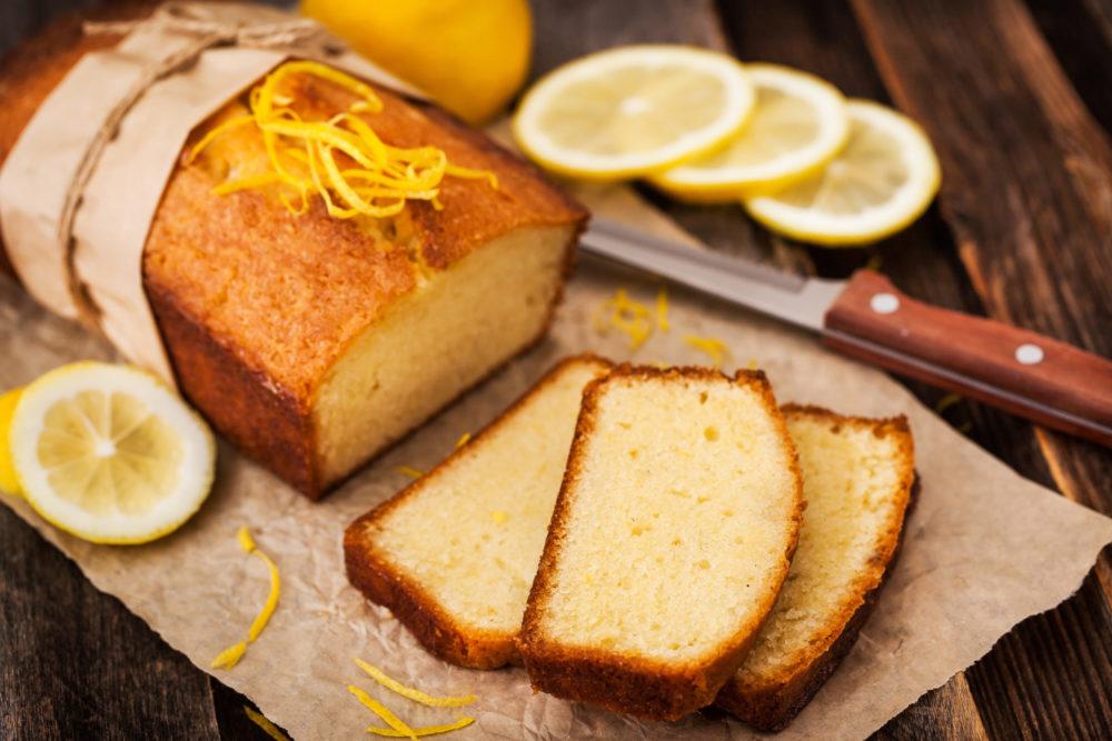 Saftiger Zitronenkuchen